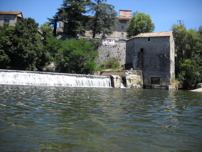 vue sur le barrage des Brasseries