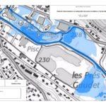 Dans le cadre de l'étude de modélisation hydraulique de la Chalaronne, cartographie des aléas inondation