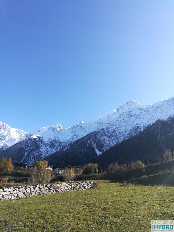 Au pied du Mont-Blanc pour 4 jours de terrain à la recherche de PIT RFID
