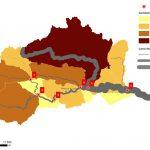 AGLY - Renaturation : cartographie des apports sédimentaires des sous-bassins versants du bassin versant du fleuve maritime Agly.