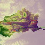 AGLY - Renaturation : cartographie MNT du bassin versant du fleuve maritime Agly