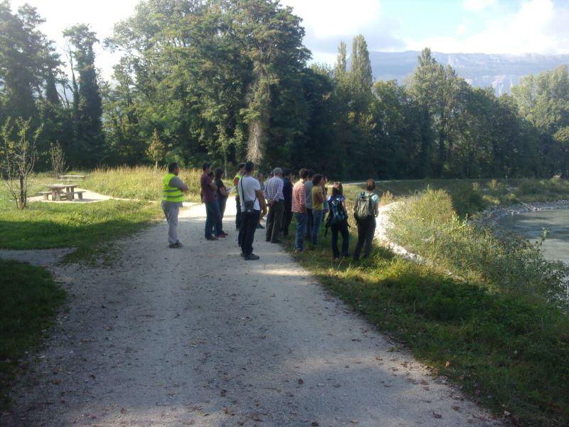 Le groupe participant à la journée technique