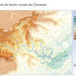 Cartographie du pourcentage de boisement des superficies d'accumulation