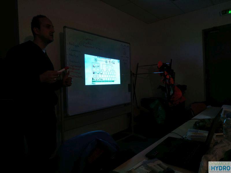 Photo de la partie théorique de la formation SST (sauveteur secouriste du travail)