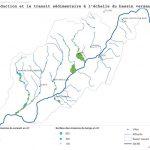 Grésivaudan - Plan de gestion global - Cartographie production transit sédimentaire à l'échelle du bassin versant