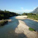 ISERE - Injection : vue de la rivière Isère