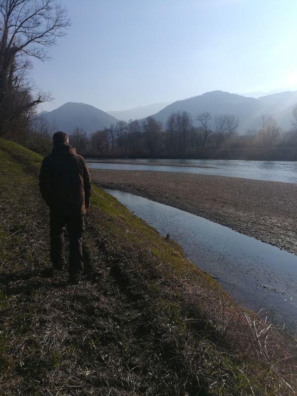 Etat des lieux, point sécurité avant la réalisation du suivi morphologique des bancs de l'Isère