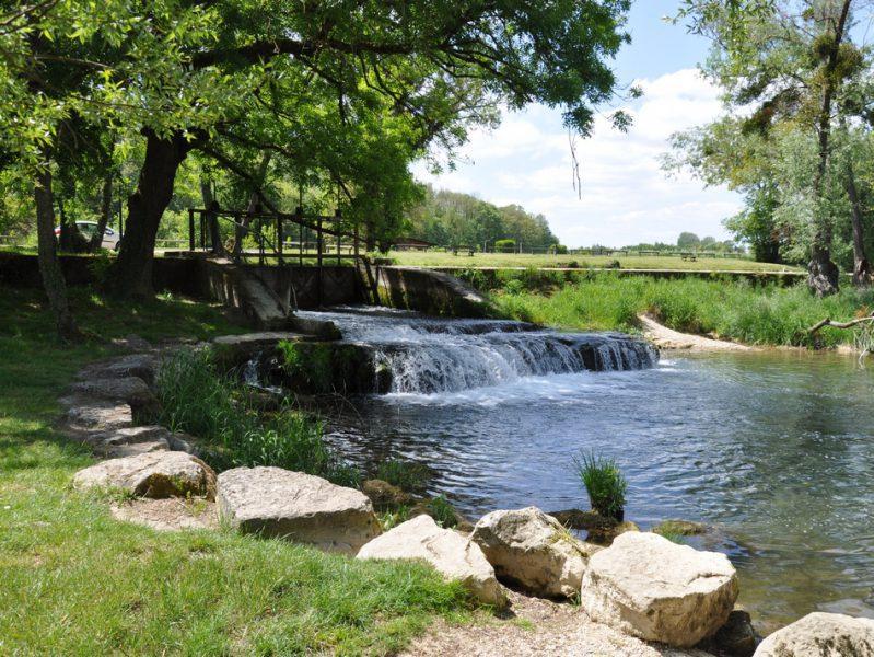 Tille Venelle : vue sur la rivière